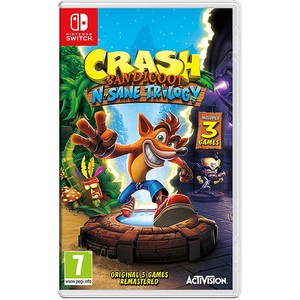Crash Bandicoot N. Sane Trilogy Remastered - Nintendo Switch (include 3 jocuri)