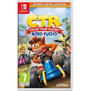 Crash Team Racing Nitro-Fueled Nitros Oxide Edition - Nintendo Switch
