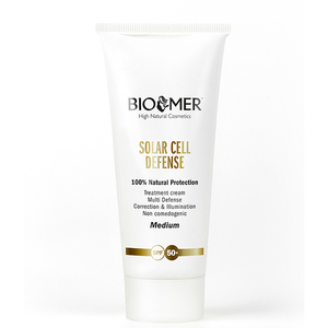 Crema protectoare de zi Bio Mer Solar Cell Defense, SPF 50+, Medium, 60ml