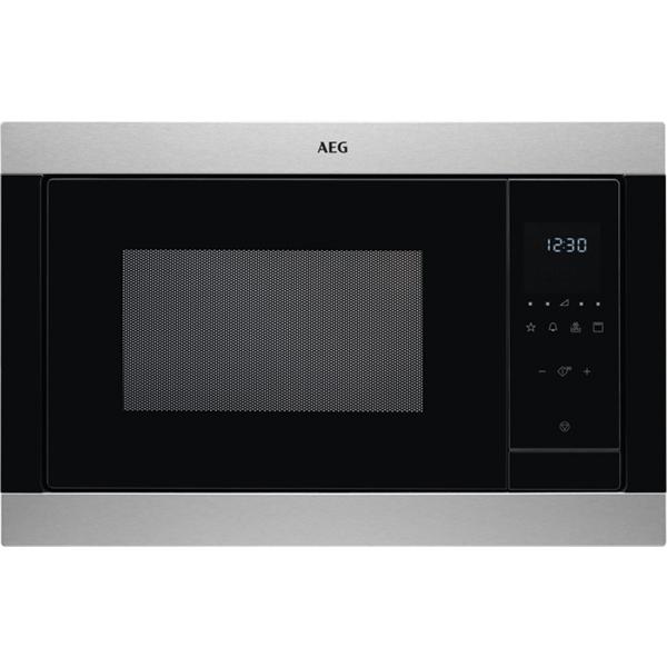 Cuptor cu microunde incorporabil AEG MSB2547D-M, 23l, 900W, inox