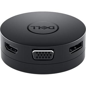 Adaptor USB-C DELL DA300, negru