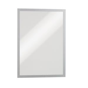 Display magnetic DURABLE Duraframe, A4, 5 bucati, argintiu