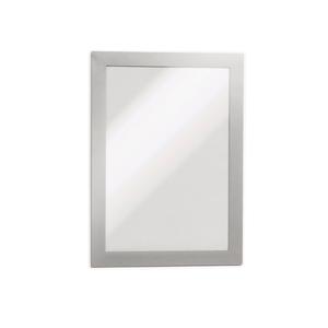 Display magnetic DURABLE Duraframe, A5, 2 bucati, argintiu