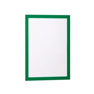 Display magnetic DURABLE Duraframe, A4, 2 bucati, verde