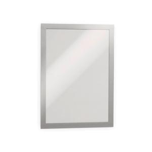 Display magnetic DURABLE Duraframe, A4, 2 bucati, argintiu