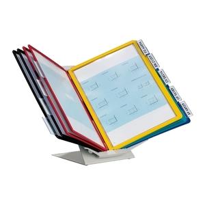 Sistem de prezentare pentru perete/birou DURABLE Vario Pro, 10 display-uri, multicolor
