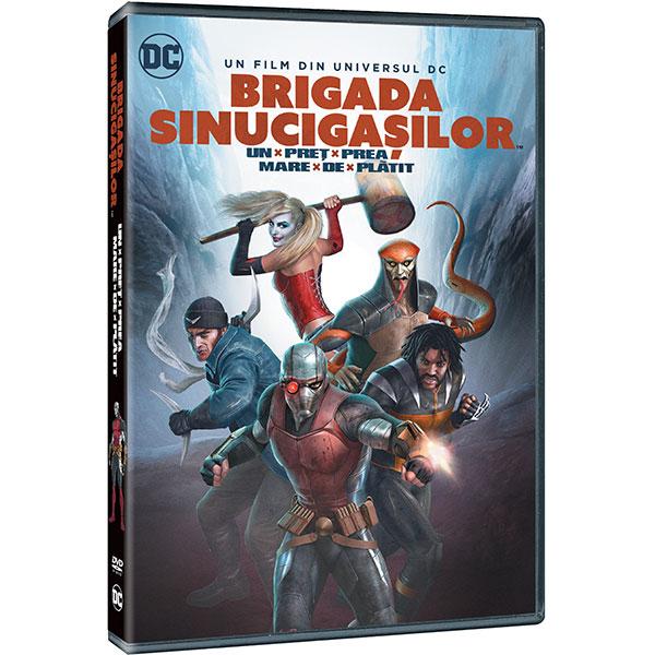 DCU: Brigada Sinucigasilor: Un Pret Prea Mare De Platit DVD