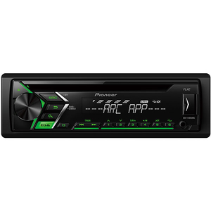 CD player auto PIONEER DEH-S100UBG, 4x50W, USB, iluminare verde