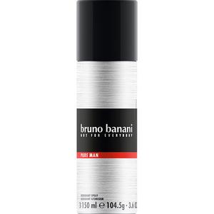 Deodorant spray BRUNO BANANI Pure Man, pentru barbati, 150ml