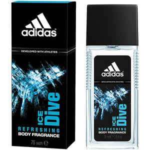 Deodorant natural spray ADIDAS Ice Dive, pentru barbati, 75ml