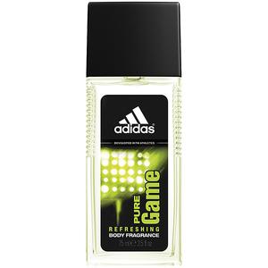 Deodorant natural spray ADIDAS Pure Game, pentru barbati, 75ml