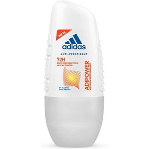 Deodorant roll-on antiperspirant ADIDAS Adipower, pentru femei, 50ml