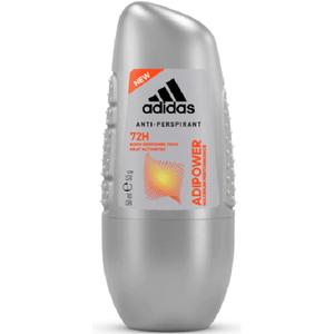 Deodorant roll-on antiperspirant ADIDAS Adipower, pentru barbati, 50ml