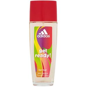 Deodorant natural spray ADIDAS Get Ready! pentru femei, 75ml
