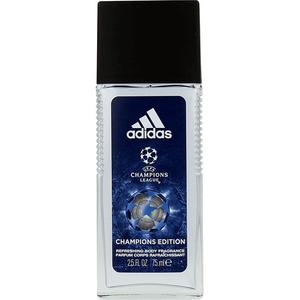 Deodorant natural spray ADIDAS UEFA Champions Edition, pentru barbati, 75ml