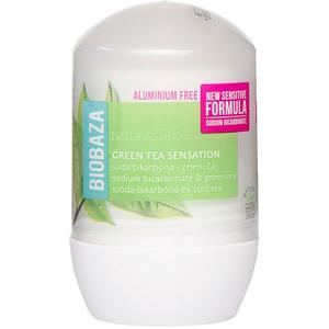 Deodorant roll-on BIOBAZA Green Tea, 50ml