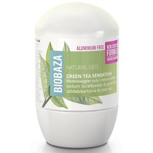 Deodorant stick BIOBAZA Green Tea, 50ml