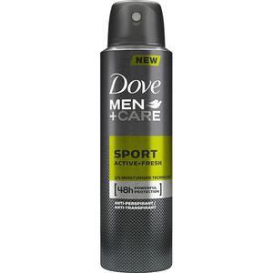 Deodorant spray antiperspirant DOVE Men+Care Sport Active Fresh, 150ml