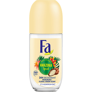 Deodorant roll-on atiperspirant FA Amazonia Spirits, pentru femei, 50ml