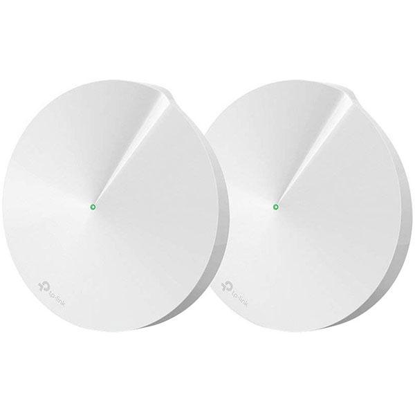 Sistem Wireless Mesh TP-LINK Deco M5 AC1300, Dual Band 400 + 867 Mbps, 2 buc, alb