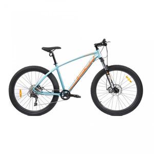 Bicicleta Mountain Bike PEGAS Drumuri Grele 17, Bleu-Portocaliu