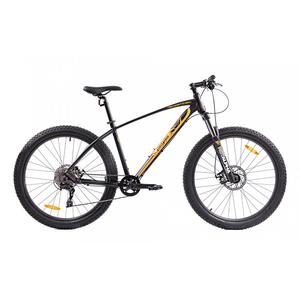 Bicicleta Mountain Bike PEGAS Drumuri Grele 17, Negru-Rosu