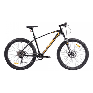Bicicleta Mountain Bike PEGAS Drumuri Grele 18.5, Negru-Rosu