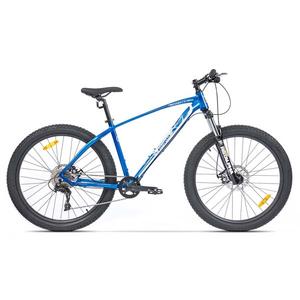 Bicicleta Mountain Bike PEGAS Drumuri Grele 18.5, Albastru-Alb