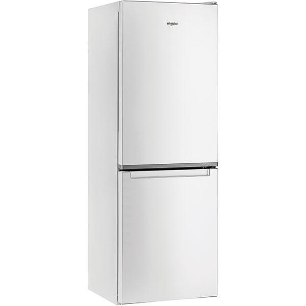 Combina frigorifica WHIRLPOOL W5 711E W, Less Frost, 308 l, H 176 cm, Clasa A+, 6th Sense, alb