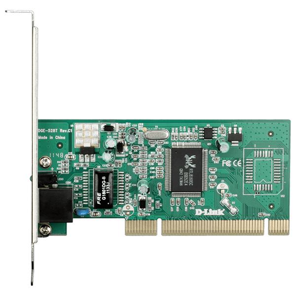 Placa de retea D-LINK DGE-528T, PCI, Gigabit