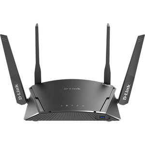 Router Wireless Gigabit D-LINK DIR-1960, Dual-Band 600 + 1300 Mbps, USB 3.0, negru