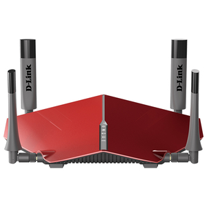 Router Wireless Gigabit D-LINK DIR-885L AC3150, Dual Band 1000 + 2167 Mbps, USB 3.0, rosu