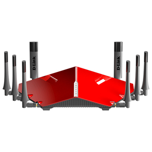 Router Wireless Gigabit D-LINK DIR-895L AC5300, Tri Band 1000 + 2167 + 2167 Mbps, USB 3.0, rosu