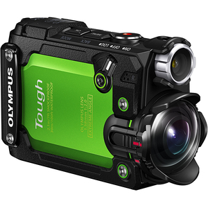 Camera video sport 4K OLYMPUS TG-TRACKER, GPS, verde