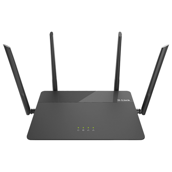 Router Wireless Gigabit D-LINK DIR-878 AC1900, Dual Band 600 + 1300 Mbps,WAN, LAN, negru