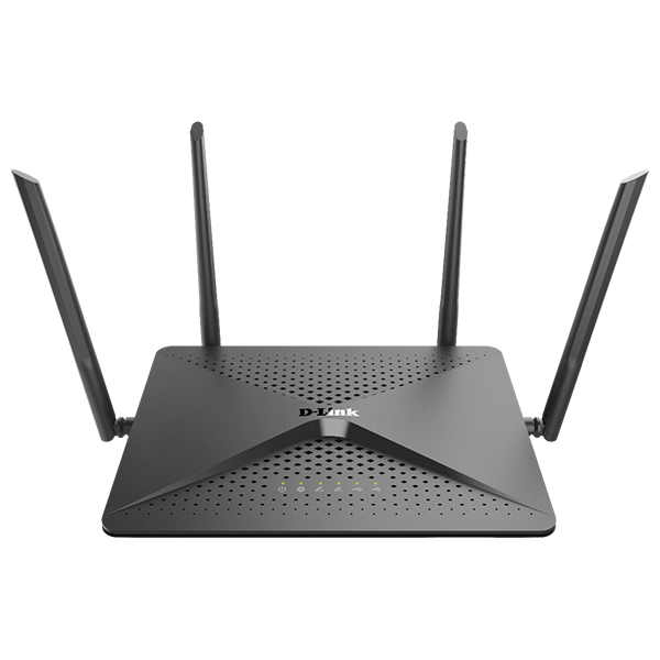 Router Wireless Gigabit D-LINK DIR-882 EXO AC2600, Dual Band 800 + 1733 Mbpps, USB 2.0, USB 3.0, negru