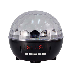 Lampa disco cu LED HOME DL 6BT, 12W, Bluetooth, FM, SD, USB, negru