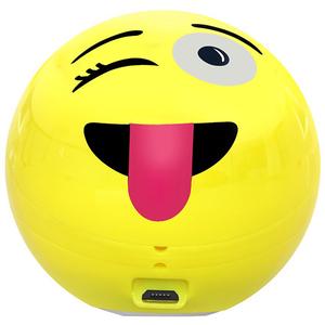 Boxa portabila PROMATE Groovy Emoji, 3W, Bluetooth, Galben