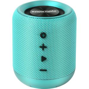 Boxa portabila PROMATE Hummer, Bluetooth, MicroSD, Radio FM, turcoaz