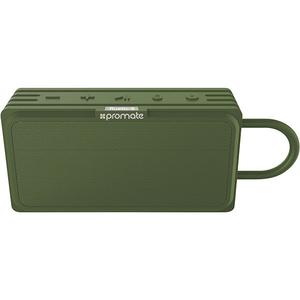 Boxa portabila PROMATE Rustic-3, Bluetooth, Waterproof, MicroSD, verde