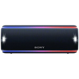 Boxa portabila SONY SRS-XB31B, Bluetooth, NFC, Wireless, EXTRA BASS, Party Booster, Waterproof, negru