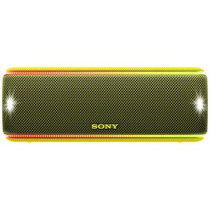Boxa portabila SONY SRS-XB31Y, Bluetooth, NFC, Wireless, EXTRA BASS, Party Booster, Waterproof, galben