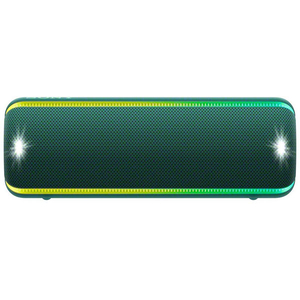 Boxa portabila SONY SRS-XB32, EXTRA BASS, Bluetooth, NFC, Wireless, Party Booster, Wireless Party Chain, LIVE SOUND, Waterproof, Verde