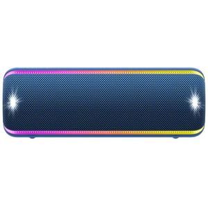 Boxa portabila SONY SRS-XB32, EXTRA BASS, Bluetooth, NFC, Wireless, Party Booster, Wireless Party Chain, LIVE SOUND, Waterproof, Albastru