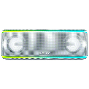 Boxa portabila SONY SRS-XB41W, Bluetooth, NFC, Wireless, EXTRA BASS, Party Booster, Waterproof, alb