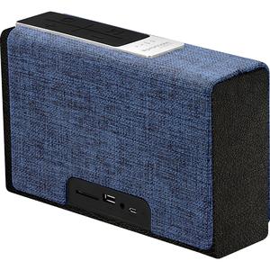 Boxa portabila PROMATE StreamBox-XL, Bluetooth, microSD, True Wireless, negru-albastru