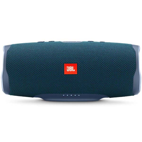 Boxa portabila JBL Charge 4 JBLCHARGE4BLU, Bluetooth, Waterproof, Powerbank, Bass Radiator, albastru