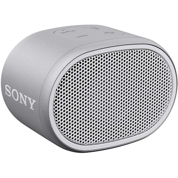 Boxa portabila SONY SRS-XB01W, EXTRA BASS, Rezistenta la stropire, Bluetooth, Hands Free, Autonomie 6 ore, alb