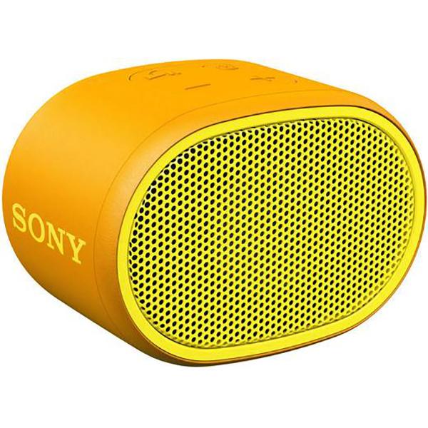 Boxa portabila SONY SRS-XB01Y, EXTRA BASS, Rezistenta la stropire, Bluetooth, Hands Free, Autonomie 6 ore, galben