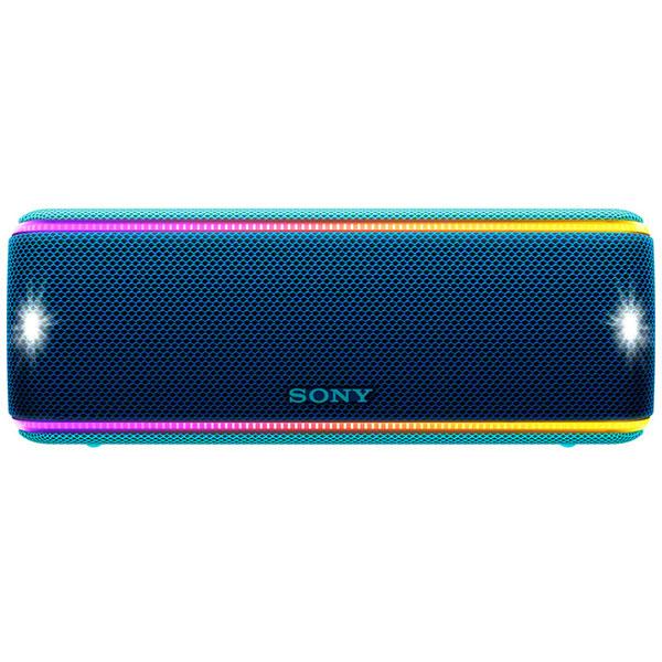 Boxa portabila SONY SRS-XB31L, EXTRA BASS, Bluetooth, NFC, Wireless, Party Booster, Wireless Party Chain, LIVE SOUND, Waterproof, Albastru